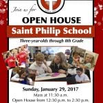 Saint Philip School's Winter Open House